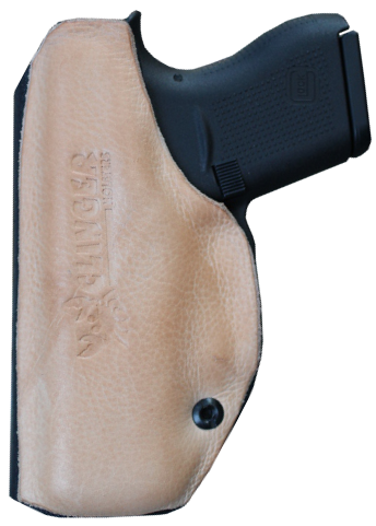Leather Backed Kydex Holster`
