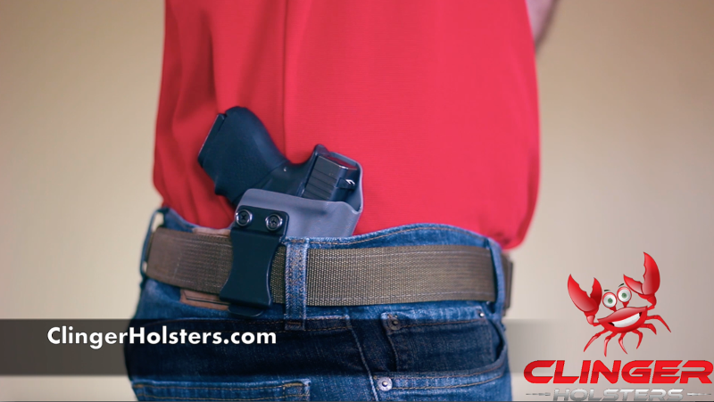 How to put on an Inside the Waistband (IWB) Holster