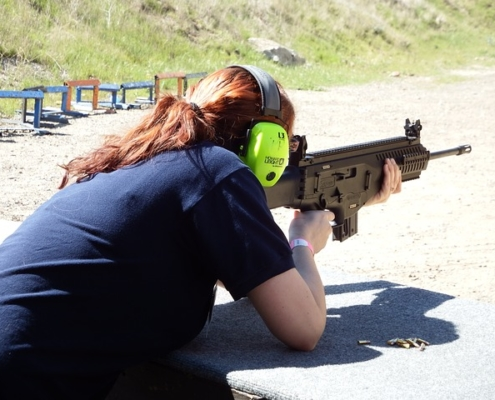 teach your daughter how to shoot
