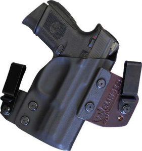 iwb dual clip holster