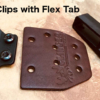 owb clips with flex tab