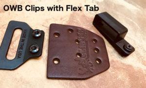 owb clips with flex tab