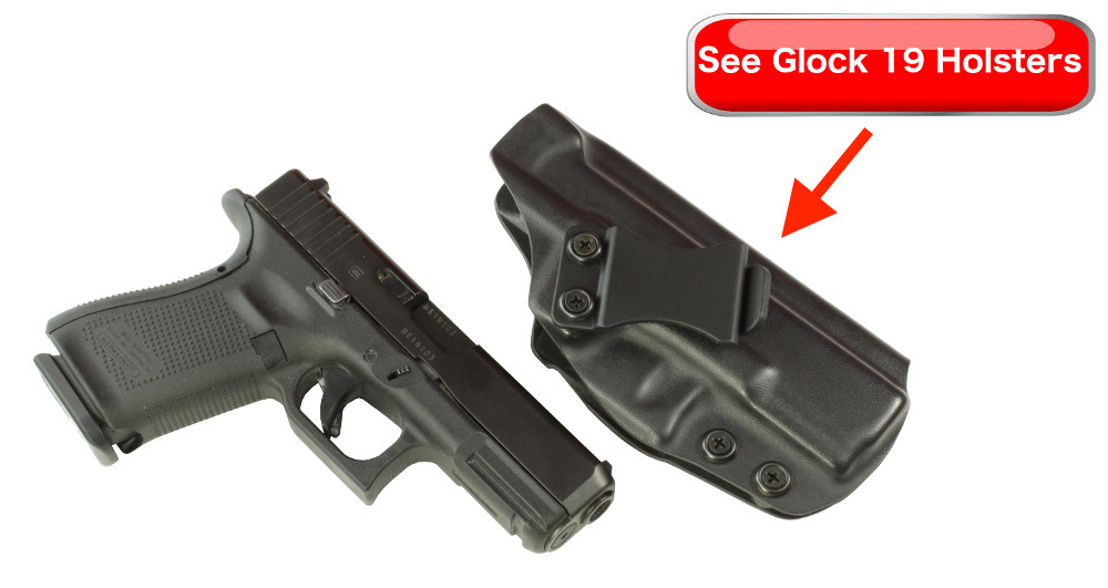 Glock 19 vs Glock 26 Holsters Comparison
