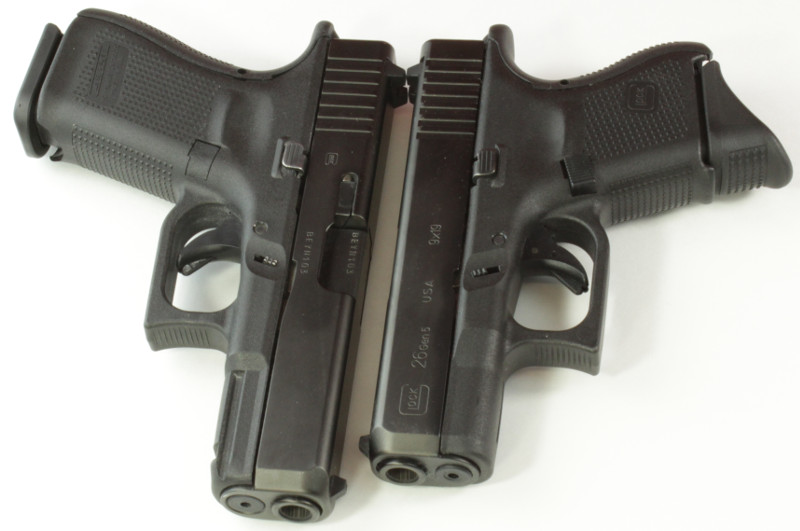 Glock 19 vs Glock 26 Concealed Carry Comparison