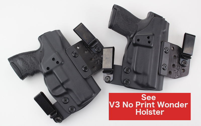 Walther PPS M2 vs S&W Shield M2.0 Kydex Holster Comparison