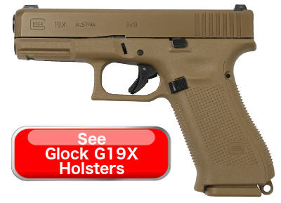 Glock G45 VS Glock G19X Holsters Comparison
