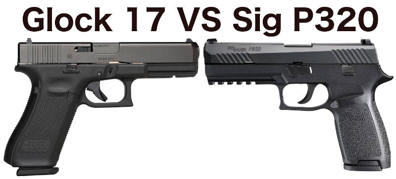 Glock 17 vs Sig P320 (with pictures) | Clinger Holsters