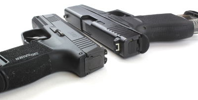 Glock 43 vs Sig P365 Side by Side Comparison