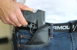 Sig P365 pocket holster draw from pocket