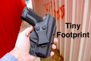 concealment Kydex Glock 19 holster