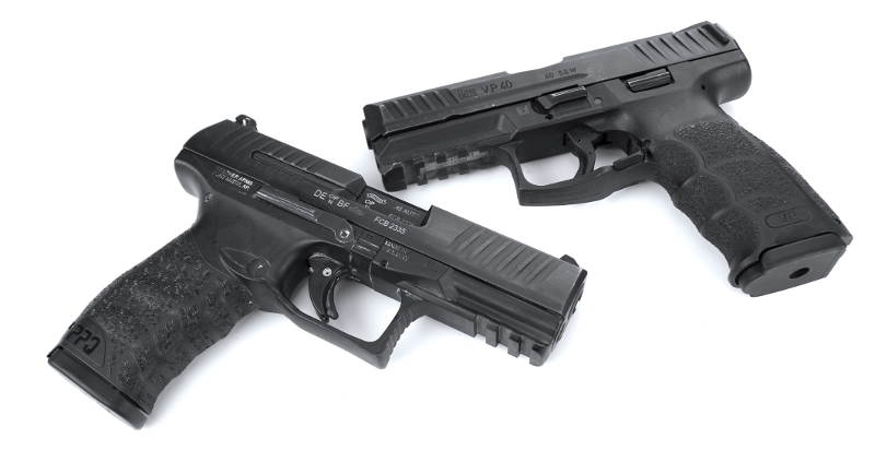 Walther PPQ vs HK VP9 Concealed Carry Handguns Comparison