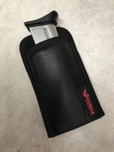 Springfield XDE 3.8 mag pouch protects mag