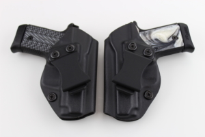 Sig P238 vs Springfield in holsters