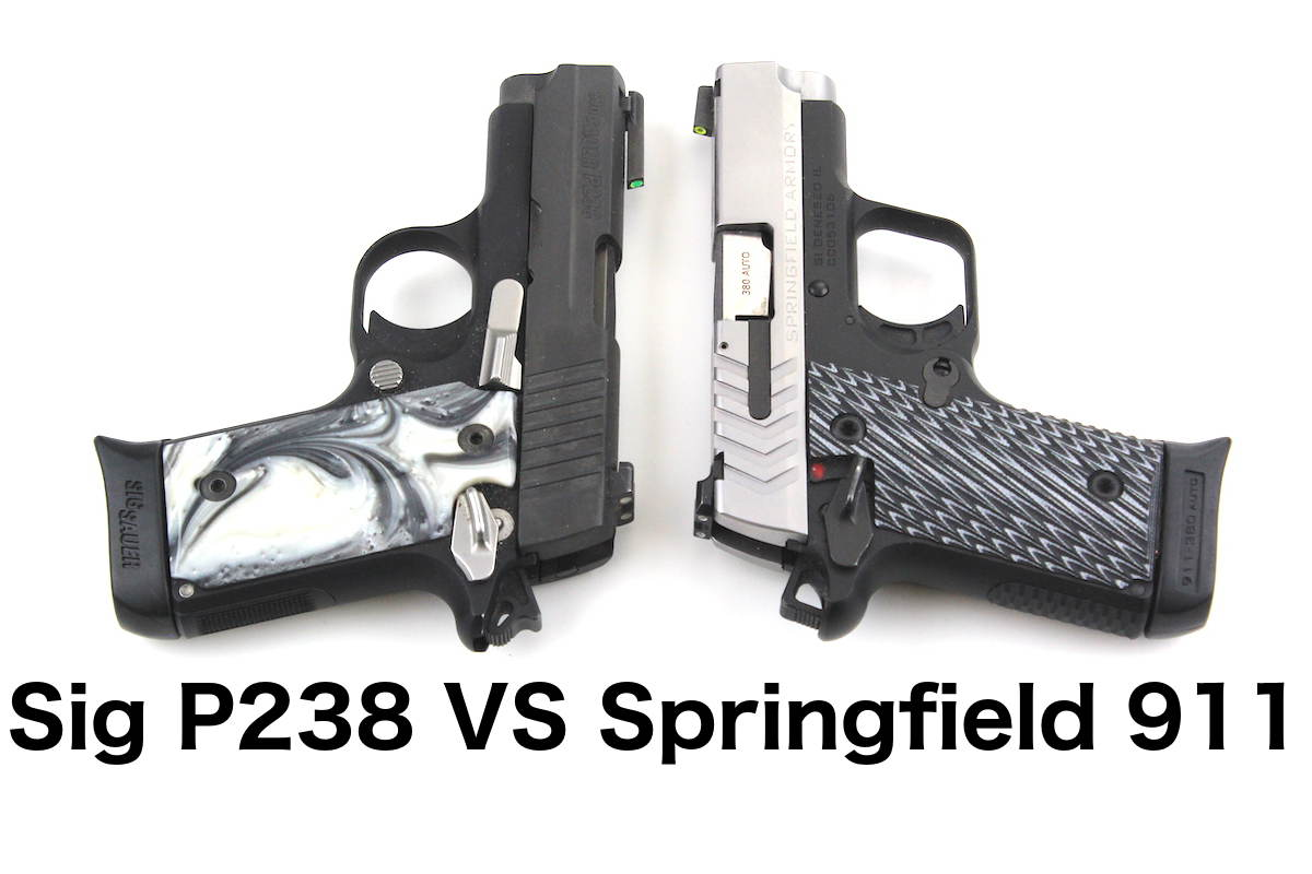 Sig P238 VS Springfield 911 (with pictures) | Clinger Holsters