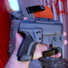 amazing iwb Springfield XDE 3.8 holster