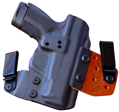 iwb Springfield XDE 4.5 holster for concealment