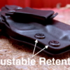 kydex Glock 43X holster
