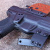 concealed carry Springfield XDE 4.5 holster for owb