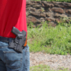 concealment owb Springfield XDE 4.5 holster