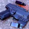 inside the waistband Springfield XDE 4.5 holster for ccw