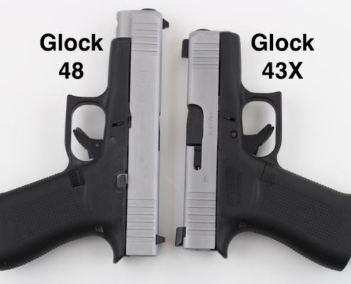 Glock 48 vs Glock 43X