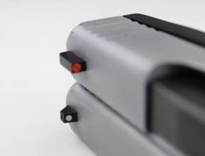 The Glock 48 and Glock 43 have optional Ameriglo sights