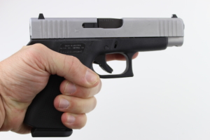 Glock 48 in hand