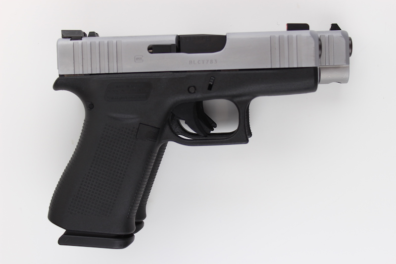 The Glock 48 slide is longer than the Glock 43X slide