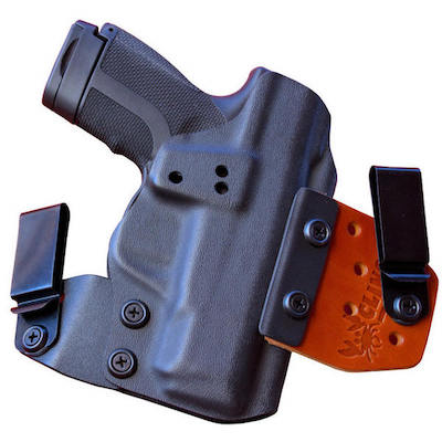 IWB S&W M&P Shield 380 EZ holster for concealment