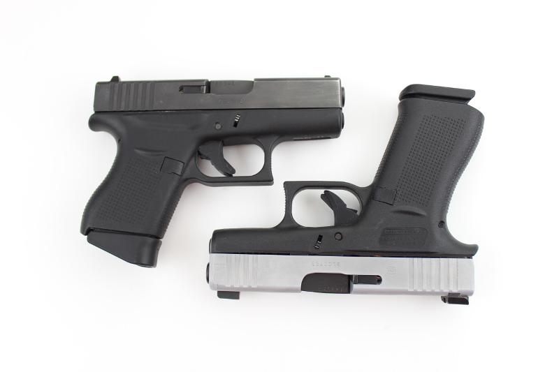 Glock 43X vs Glock 43 - 10 rounds vs 6 rounds