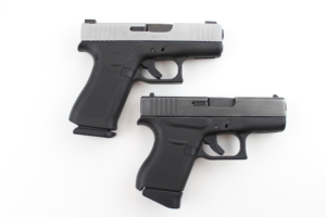Glock 43X VS Glock 43 has a longer grip