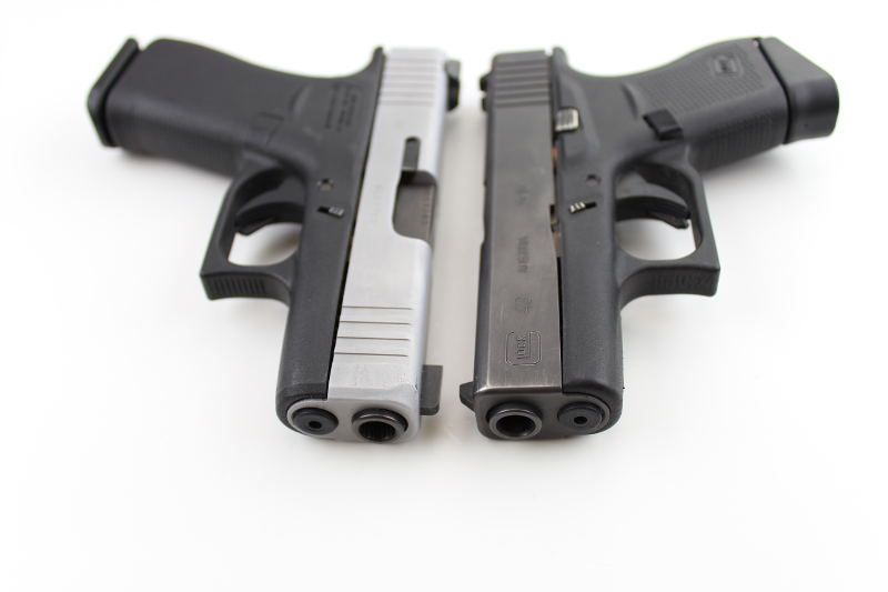 Glock 43X VS Glock 43 Slide Serrations