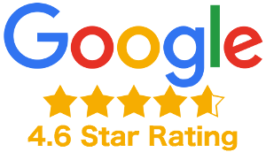 Google Reviews Logo 4.6 Star Rating