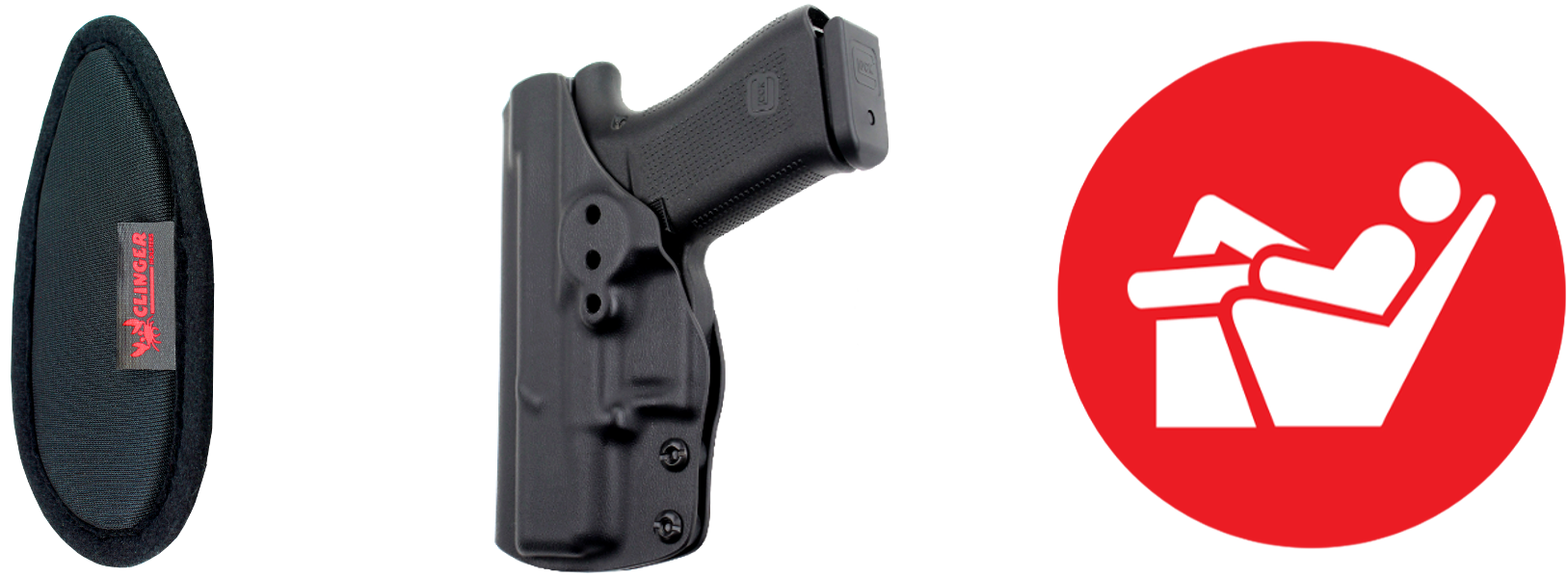 Clinger Holsters | Kydex Holsters for Concealed Carry