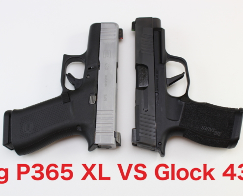 Sig P365 XL VS Glock 43X.