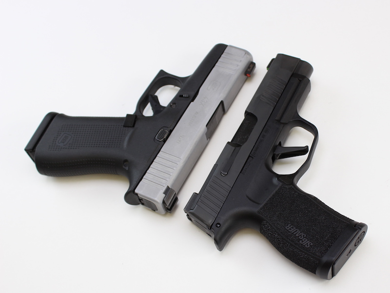 Sig P365 XL vs Glock 43X side by side comparison
