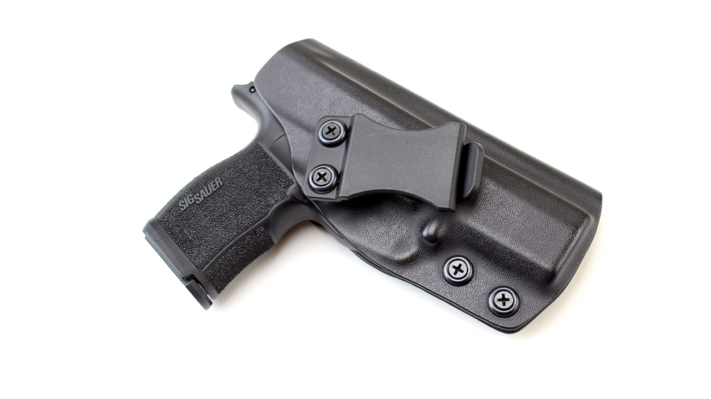 Sig concealed carry gun in durable and modular Kydex Holster