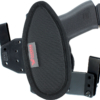 Hinge holster with cushion