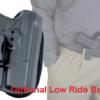Low Ride Belt Clip Option