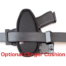Beretta 92F attached-cushion-OWB-gunmodel-holster