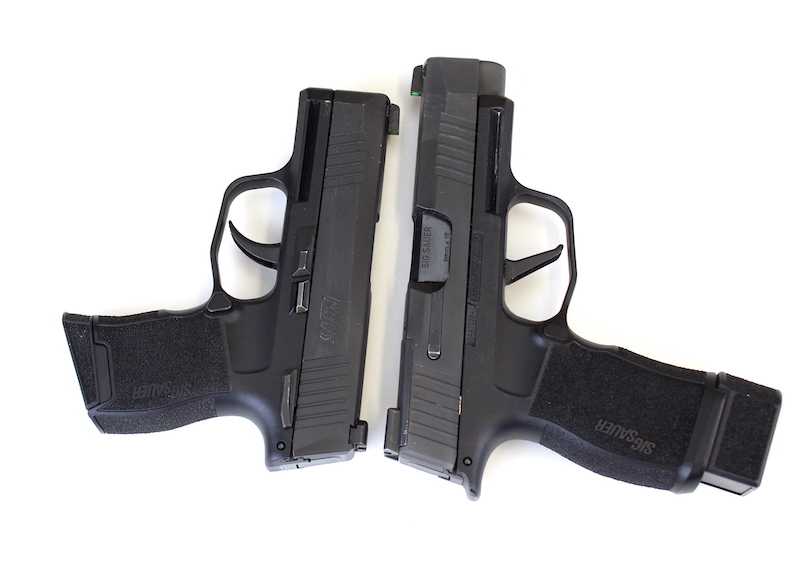 Multiple Sig P365 Models Next to each other