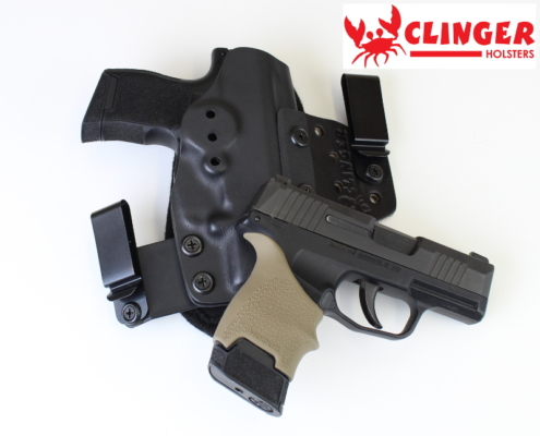 Sig P365 Laying on Holster