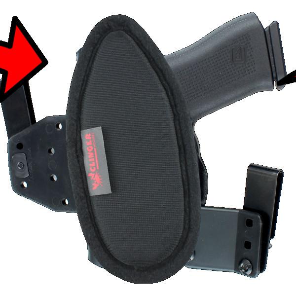 comfortable Beretta 92 Compact holster