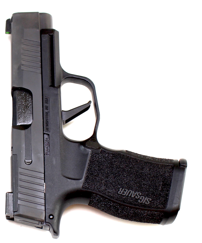 Vertical view of the Sig P365XL
