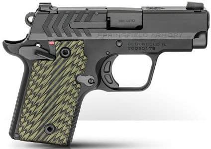 Best Concealed Carry Handguns - Springfield 911 .380