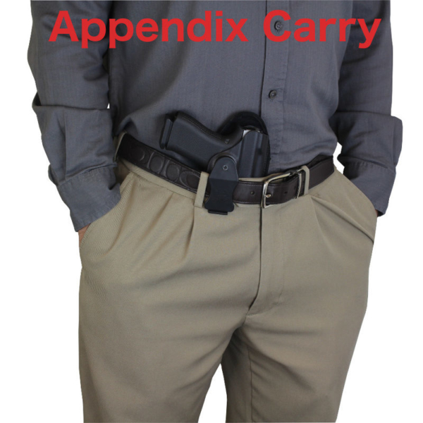 appendix Kydex holster for Glock 19 with TCM