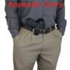 appendix Kydex holster for Glock 23