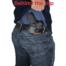 cz rami Kydex holster drawn from belt