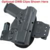 CZ P07 IWB Hinge Holster converts to owb