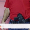 Glock 22 holster for crossdraw